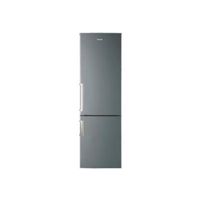 Candy CCBS6182XHV/1 - réfrigérateur/congélateur - congélateur bas - pose libre - inox