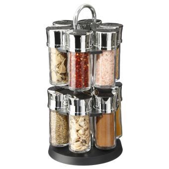 9e77a6af7ceef Présentoir à épices sur support rotatif et 12 pots avec épices - Achat    prix