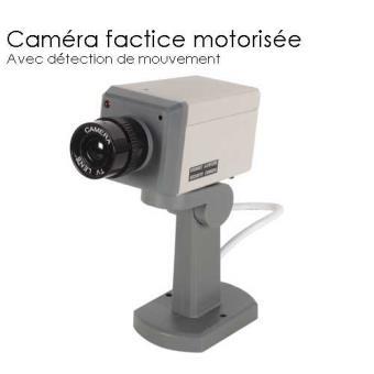 Caméra Factice Motorisée Et Détecteur De Mouvement Jod 1