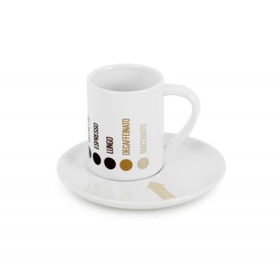 Tasse espresso barista x4 céramique