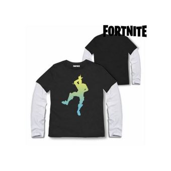 T shirt à manches longues enfant Fortnite 75065 Noir (Taille 14 ans)