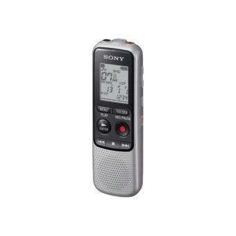 Dictaphone et Magnétophone SONY ICDBX132 ARGENT 2go
