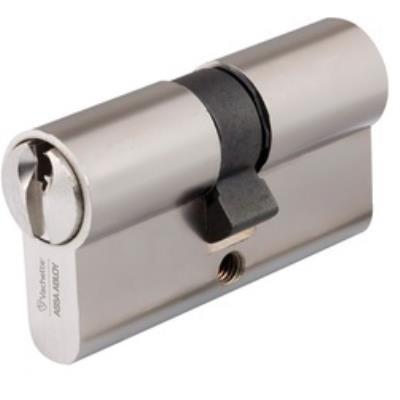 Cylindre V5 - Profil Européen 2 Entrées Vachette 7100 Dim.(En Mm): 30X40, Long. 70 Mm, Fin.: Laiton