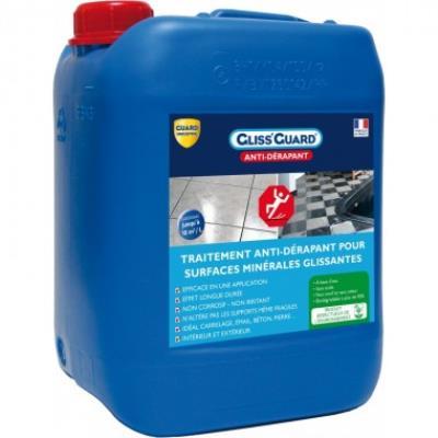 Antidérapant pour surfaces glissantes- gliss'guard 5l + pulvérisateur offert