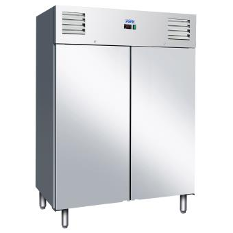 Armoire cong lateur 2p inox statique kyra gn 1400 bt achat prix fnac - Congelateur armoire inox ...