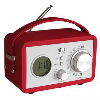 radio r veil vintage rouge r veil achat prix fnac. Black Bedroom Furniture Sets. Home Design Ideas
