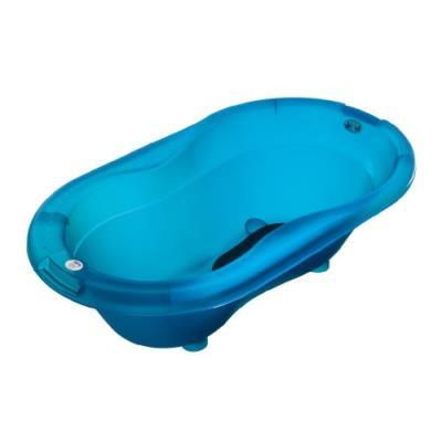 Rotho babydesign baignoire - bleu transparent