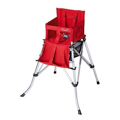 Babytolove chaise haute nomade rouge