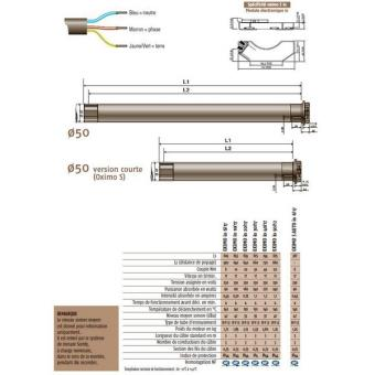 Moteur Pour Volets Roulants Oximo Io 6 17 Somfy Equipements Et