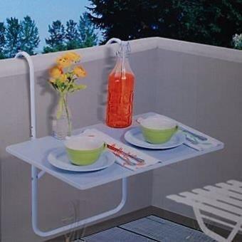 Balcon D'appoint Rembarde Pliable Plateau Table Terrasse Pliant Pour N80OXknwPZ