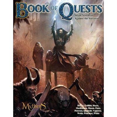 The Book of Quests: Seven Scenarios Against the Sorcerer - [Livre en VO]