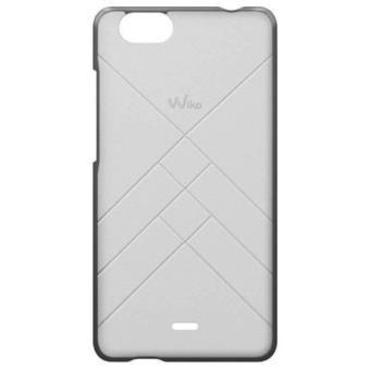 Wiko Coque Jetlines - Achterzijde behuizing voor mobiele telefoon - wit - voor Wiko Pulp FAB 4G