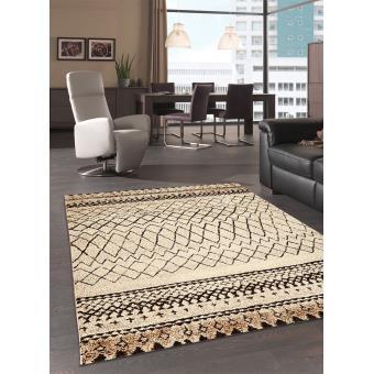 3112 sur tapis dinspiration berber morocco tribal tapis moderne par unamourdetapis 80 x 150 cm achat prix fnac - Tapis Moderne