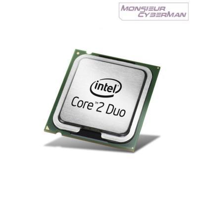Référence : Intel Core 2 Duo E8500 3.16Ghz / SLB9KNombre de coeurs : 2Fréquence : 3.16 GhzSocket carte mère : LGA 775 / Socket TCache : 6Mo br