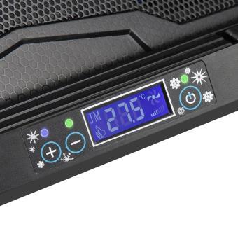 Refroidisseurs pour ordinateur portable Gaming, équipé de 2 ports USB,  adapté pour 12-17 pouces, avec 2 ventilateurs silencieux de 130mm et  l affichage ... 81ec5e2ad988