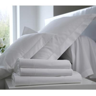 Taie d'oreiller Satin BLANC DES VOSGES 65 x 65 cm Blanc