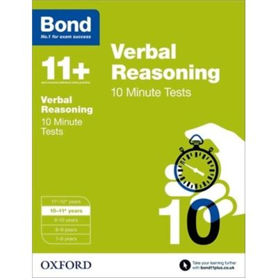 Bond 11+: Verbal Reasoning 10 Minute Tests: 10-11+ Years (Paperback)
