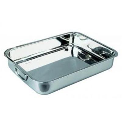 IBILI - Ustensiles et accessoires de cuisine - plat a rôtir inox anses pliantes 35cm ( 6514-35-4 )