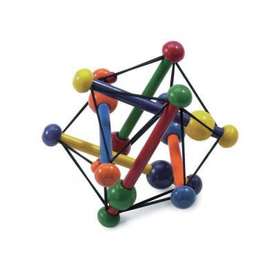 Hochet Atomes en bois