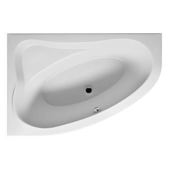 231 sur grande baignoire acrylique riho d 39 angle droite lyra 170x110 cm installations salles. Black Bedroom Furniture Sets. Home Design Ideas