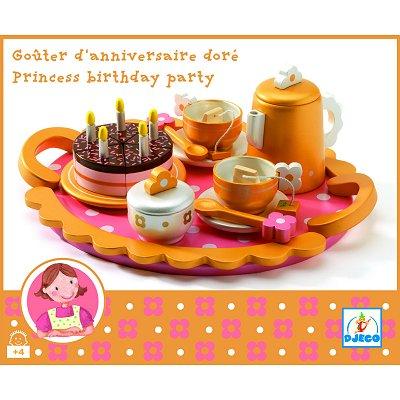 Goûter d'anniversaire princesse