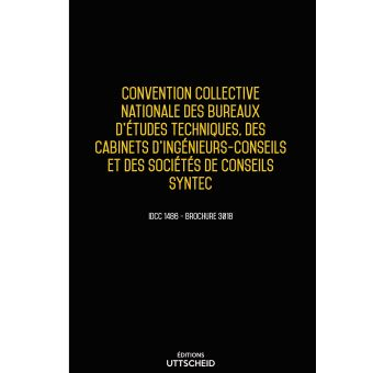 Convention Collective Des Bureaux D Etudes Techniques Des Cabinets