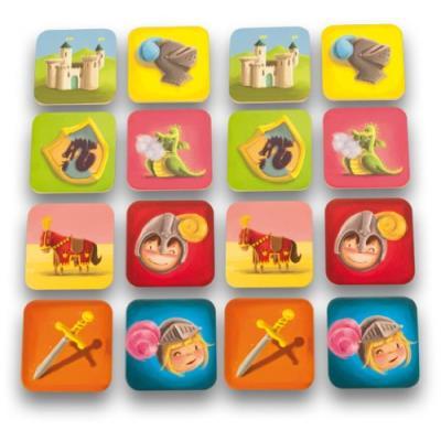 Ulysse couleurs d'enfance - 3867 - jeu de société - mémo chevalier