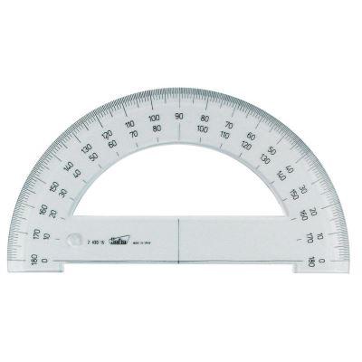 Demi-cercle plastique 15 cm