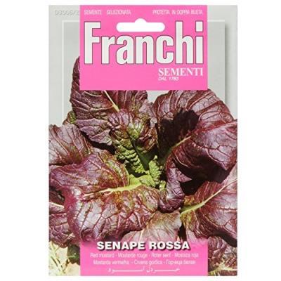 Franchi Sachet De Graines De Moutarde Rouge