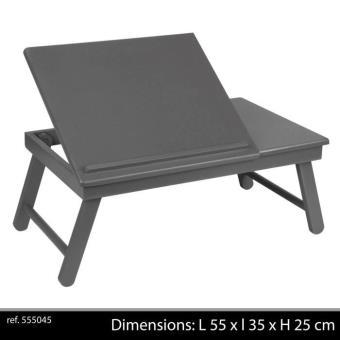 plateau pliable pieds petit dejeuner lecture amovible. Black Bedroom Furniture Sets. Home Design Ideas