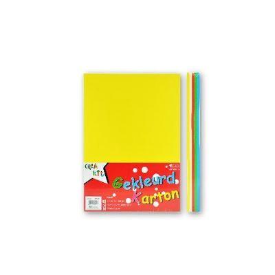 Papier de couleur Crea-Kit A5 160 gr