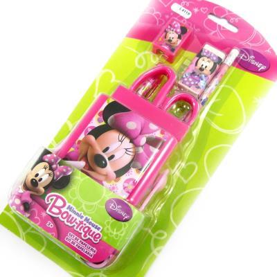Set scolaire 'Minnie' rose