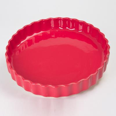 Table Passion - Tourtiere 28 Cm Gusto Rouge