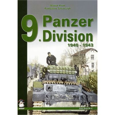 9. Panzer Division: 1940-1942 (Green) (Paperback)