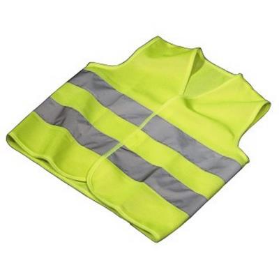 Hama veste de sécurité, en polyester, jaune fluo 00083920
