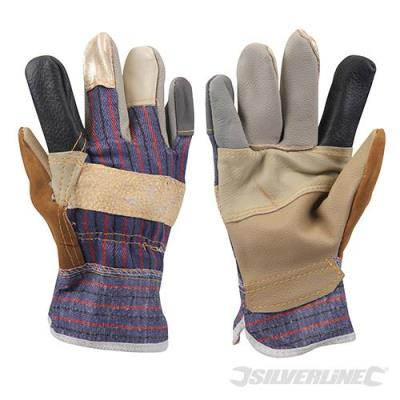 Gants de <strong>dockers</strong> patchwork silverline