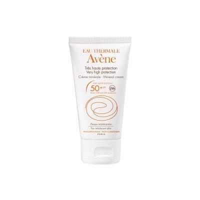 AVENE SOLAIRE Très Haute Protection Crème Minérale SPF50+ (50 ml)