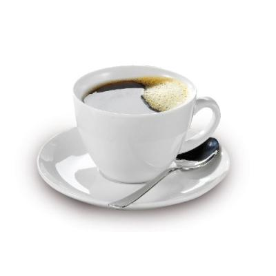 Esmeyer - tasses bistro kaffee, porcelaine blanche pack 6 433-255