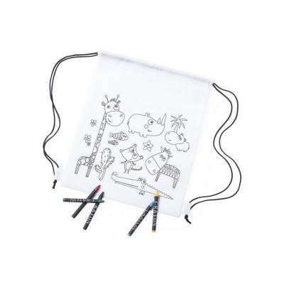 Sac à dos à Colorier 145701 (Couleur Blanc)