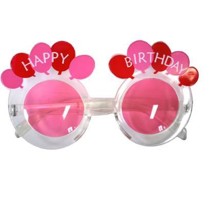 Lunettes Happy Birthday Rose