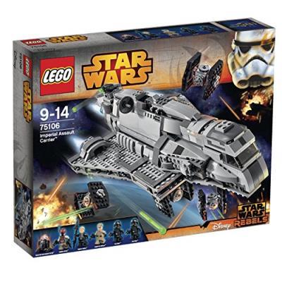 Lego Star Warstm - 75106 - Jeu De Construction - Imperial Assault Carrier