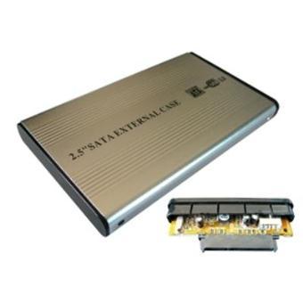 boitier pour disque dur sata 2 5 en aluminium avec housse connexion usb 2 0 achat prix. Black Bedroom Furniture Sets. Home Design Ideas