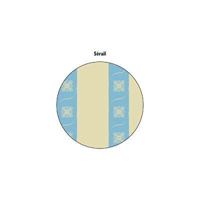 Widex 648 housse de repassage coton multicolore 148 x 62 x 2 cm