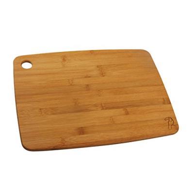 Fackelmann 37722 tropical planche à découper bois/bambou marron 38 x 29 x 1,5 cm