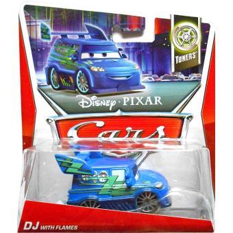 Mattel 2012 disney cars 2 voiture miniature echelle 1 55 dj avec flammes voiture achat - Nom voitures cars 2 ...