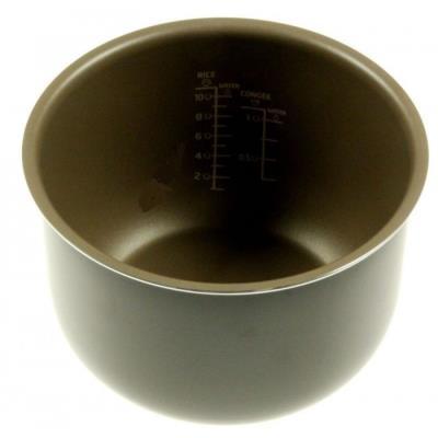 pot, aluminium pour cuiseur vapeur philips