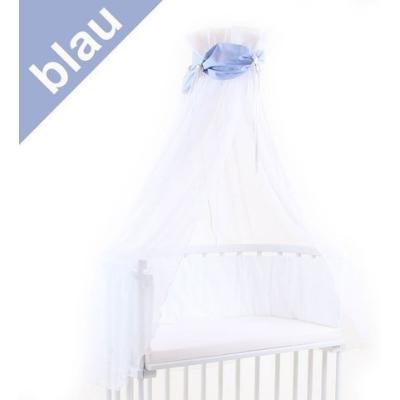 ciel de lit bleu