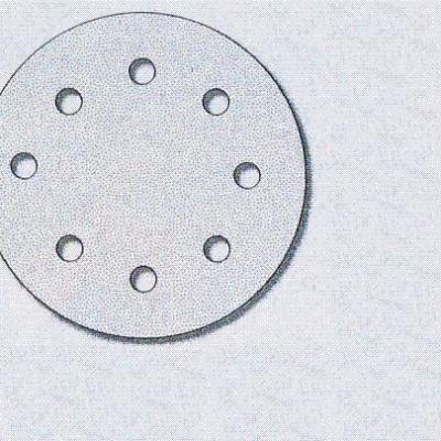 Makita - disque abrasif spécial peinture 125 mm et 8 trous d'aspiration - grain : 120