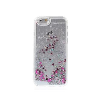 BPFY Coque Iphone 7 Paillettes et Etoiles Liquide ARGENT