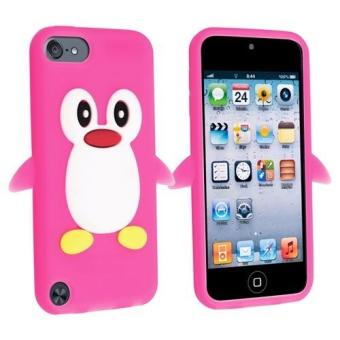 coque souple ipod touch 5 pingouin animal rose fonce achat prix fnac. Black Bedroom Furniture Sets. Home Design Ideas